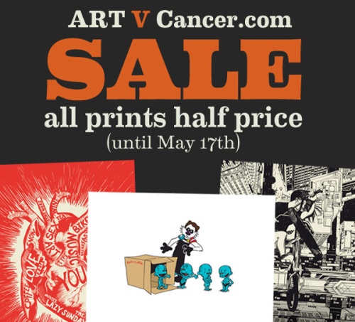 Sale time at Art V Cancer
