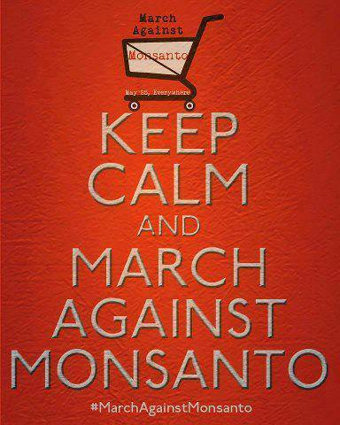 March against Monsanto is on 5/25/2013We refuse eat their toxic mutant foods with their highly toxic pesticide that massacres the honeybee colonies across the world.