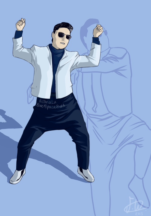 PSY - Gentleman   by ~BlueAlpaca