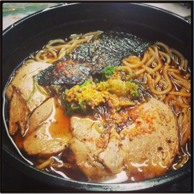 abangpinoy:  Asian Food Time: Hanaichi's Kurobuta Ramen: Oh. My. Excuse me while I….