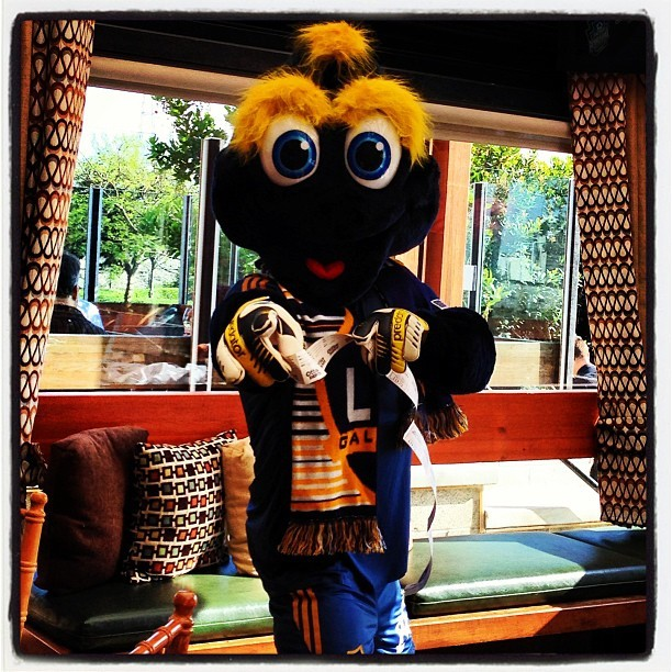 It's Cozmo! @lagalaxy #soccer #MLS #lagalaxy (at Salt Creek Grille)