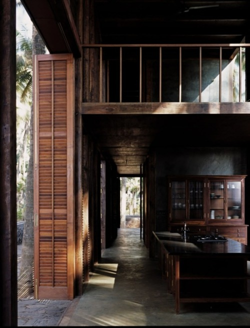 justthedesign:  Kitchen At The Palmyra House By Studio Mumbai