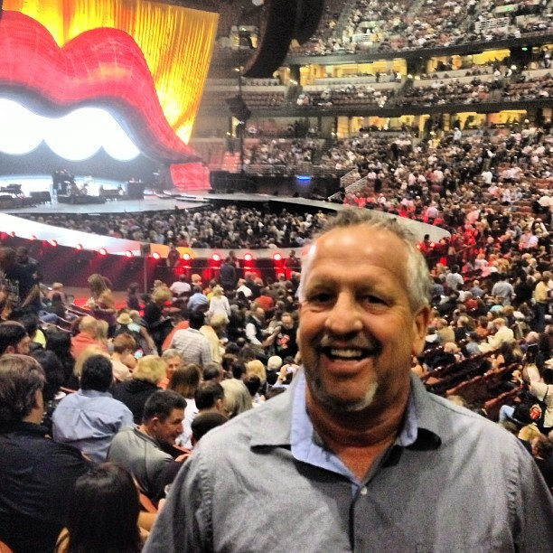 #therollingstones @sherrieanddave having a blast!