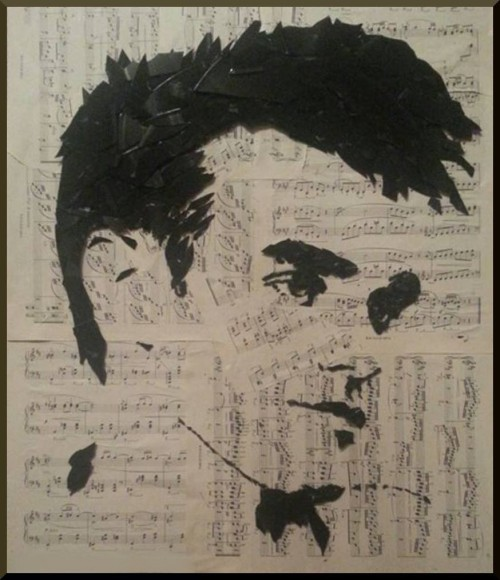 Portrait of Moz made by Kirk Whitehouse