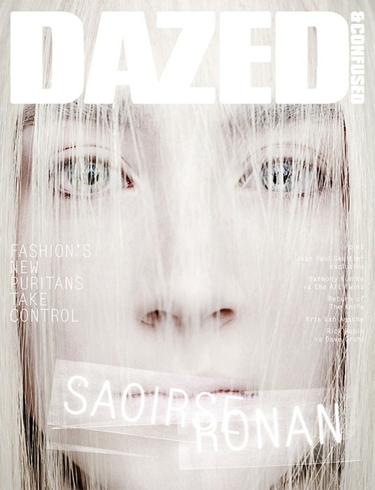 Saoirse Ronan- Dazed & Confused by Rankin, April 2013