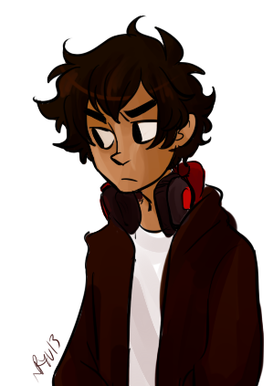 i just dont see how anyone could not like hispanic karkat. like woah this cutie. he starts shouting in spanish at times whenever he gets really angry. or just to start fucking with dave.