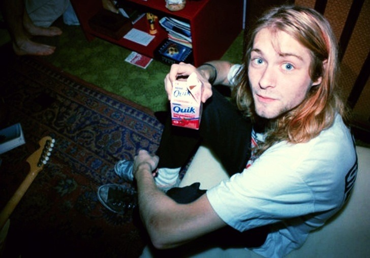 tekena:  Favourite picture of Kurt Cobain