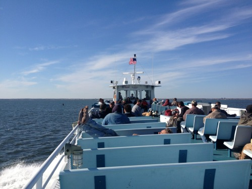 Fire Island Ferries, bound for Bay Shore, NY.