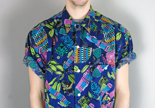 Vintage Tropical Summer Shirt @ CMBK