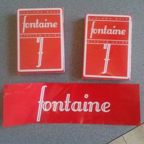 Well shit this was a nice surprise. Thanks @zachmonky #fontaines #magic #cards