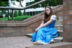 Belle ABC's Once Upon a Time Cosplay by: aurimynonys