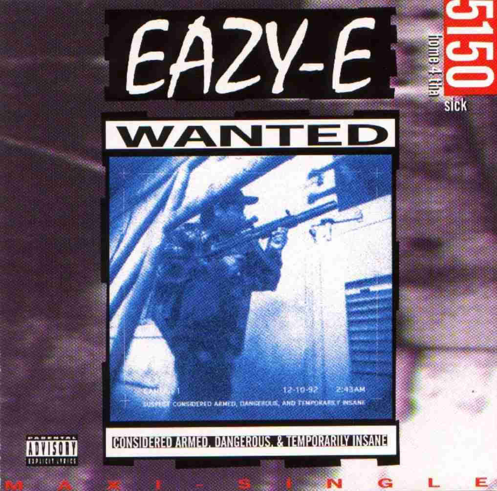 20 YEARS AGO TODAY |12/28/92| Eazy-E released the EP, 5150: Home 4 tha Sick , on Ruthless Records.