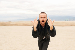 terrysdiary:  Aaron Paul in Venice #2