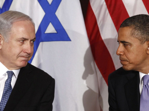 "U.S. President Barack Obama called Prime Minister Benjamin Netanyahu on Monday and congratulated him on the results of the Israeli election. A statement released by the White House said that Obama congratulated Netanyahu ""on his party's success in winning a plurality of Knesset seats in Israel's recent election."" Obama is the only foreign leader to call and congratulate Netanyahu thus far."