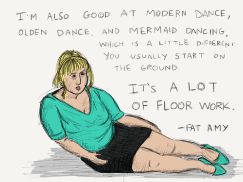Mermaid dancing by Fat Amy