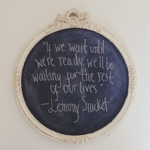 my whole life feels like this. Also, love Lemony Snicket.