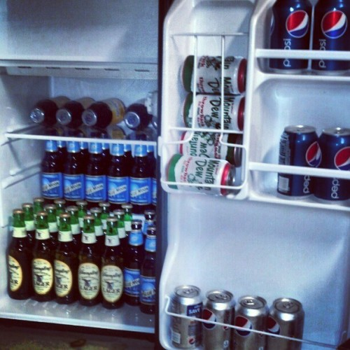 Well, my fridge is ready for a poker game. Are you?