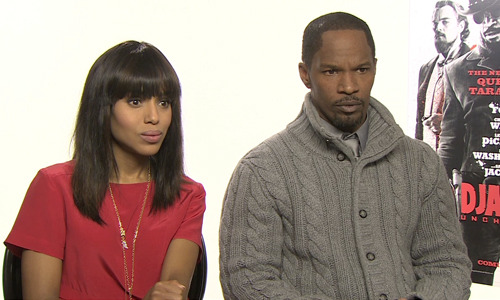 Jamie Foxx and Kerry Washington react to Django Unchained Oscar nominations: Exclusive video Django Unchained has deservedly been nominated for Best Picture at the 2013 Oscars, but there were some surprising omissions…