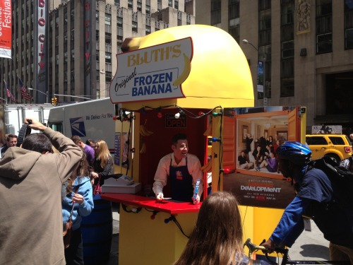 Bluth's Banana Stand is on Seamless? That stuff is BANANAS, b-a-n-a-n-a-s!