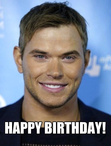 Happy 28th Birthday to Kellan Lutz!!!