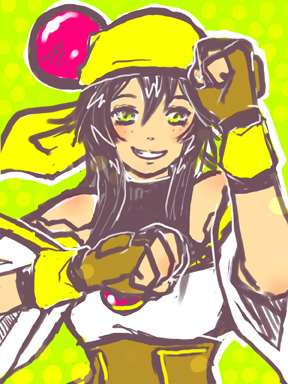 It's 90's Anime Week!  Here's Lime from Saber Marionette J.