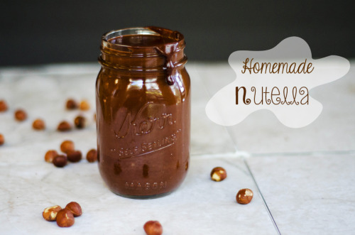 homemade gluten and dairy-free nutella.