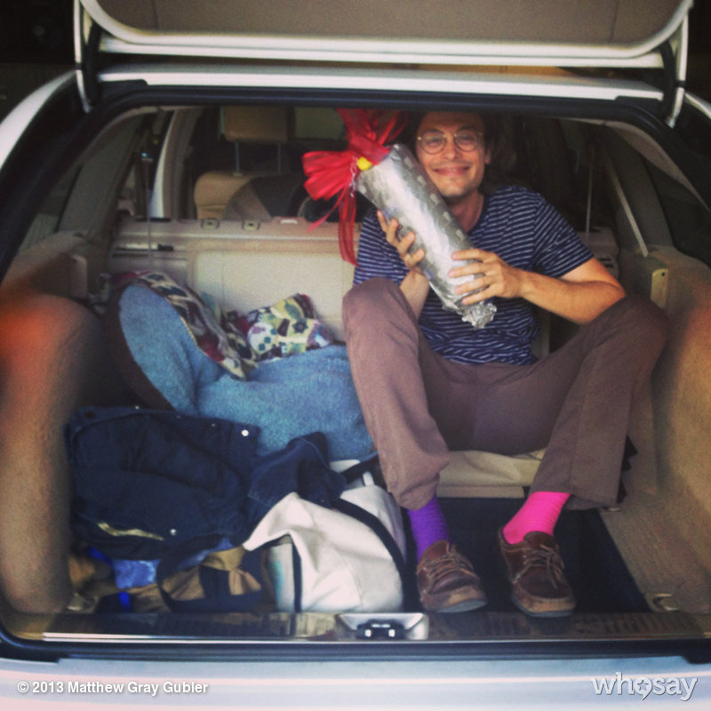 gublernation:  once the most limber son always the most limber son. #thewaybackforever View more Matthew Gray Gubler on WhoSay