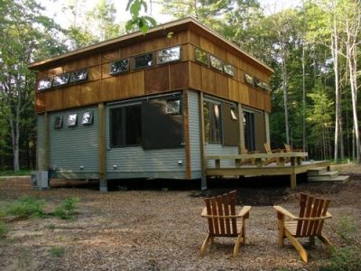 Green Home Prefab Cottage in a Day - Green Building : Jetson Green