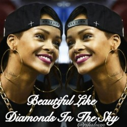 My 💎Love You Robz! X @badgalriri #robynfenty #rihsbian #myedit #diamonds #phuckyofav #badgalriri #rihannanavi #rihannanavy #rihanna #navy #navi #thuglife #miamiheat #unapologetic #dwt #diamondworldtour #1love #420 #fenty #fashion @mforde11 #sexy #hot #riri #rih #robz #shinebright  (at Shine Bright…)