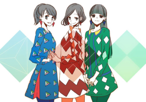 distortedghie:  dat Nocchi hair (c) marumaruomaru  those hairstyles and all…