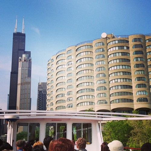 Sears Tower on the boat tour