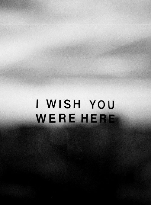 souls-entwined:  I wish you were here (by jon_mutch)