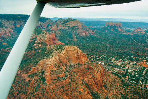 On a one mile right 45 for Runway 21 at Sedona.