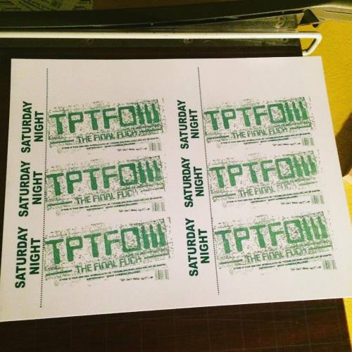 So happy with how these are coming out. Should all be stamped and up on the site by tomorrow morning. Awesome design work by @sicknimich #totalpunktotalfuckoffiii #totalpunktotalfuckoffiii