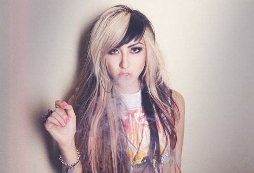 allisongreen:  Photo by @rickcraft #allisongreen #millionaires #smoke
