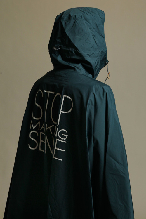 Undercover Stop Making Sense S/S 2013 Gore-Tex Raincoat/Mantle