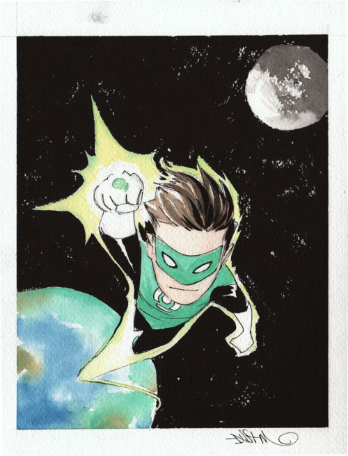 superspacechick:  Green Lantern by Dustin Nguyen