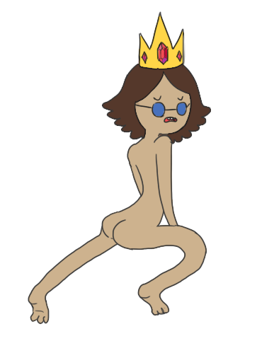 allthecrookedteeth:  Draw me wearing the crown. Wearing *only* the crown.    ((I will never not use this gif))