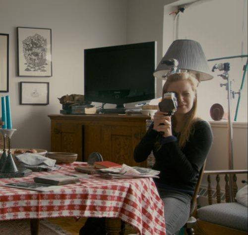 nprfreshair:  Sarah Polley, the director of the new documentary Stories We Tell, tells Terry Gross about including footage of retakes in the film:  I think that, for me, it was really important to not leave the construction of the film out because it's a film about storytelling and how we tell stories and why we tell stories. I thought it was really important to include the process of making this film itself in the film and some of that involves some rather unflattering and ruthless moments for me like directing my dad when he's … pouring his heart out, basically. And, you know, you do get into this mode, I think, when you're telling a story — or certainly when you're making a film — where you can kind of lose your sense or your barometer for what's human or humane and certainly I think there are a few moments in the film where I'm directing my dad where I don't come off that well, but I certainly come off as somebody who's trying to tell a story above all else.  Image courtesy of Roadside Attractions Publicity  Love love love Sarah Polley. Love love loved this film. It touched on places I didn't know exist.