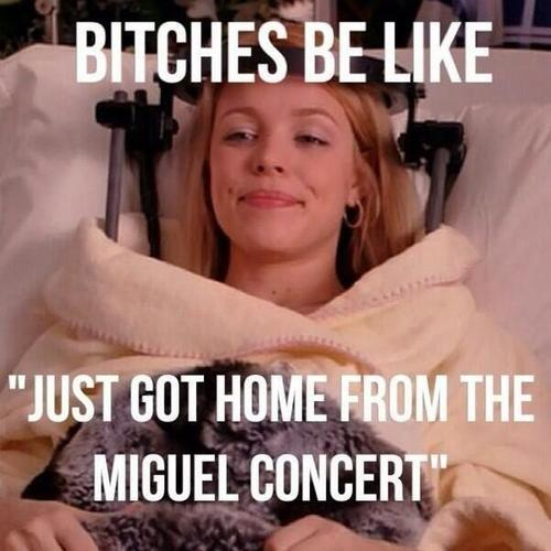 justlikeatexan:  (via Oh No They Didn't! - Miguel Accidentally Lands On Woman's Head at Billboard Music Awards)