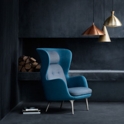Ro armchair by Jaime Hayón for Republic of Fritz Hansen Dan Howarth, dezeen.com Milan 2013: wingback armchairs by Spanish designer Jaime Hayón for Danish brand Republic of Fritz Hansen were unveiled in Milan earlier this month (+ slideshow).