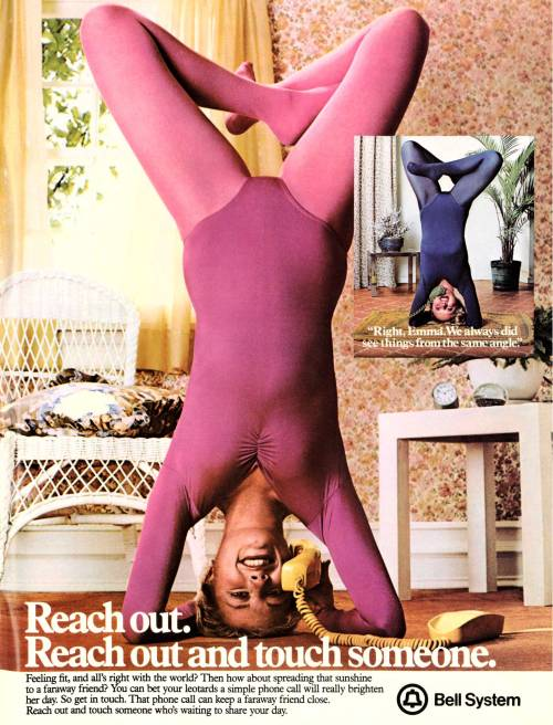 Go Ahead- Reach Out And Touch Someone Newsweek, 1979