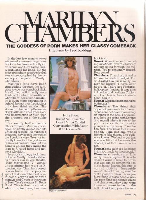 Swank magazine, February 1981