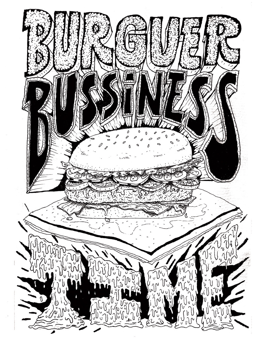 Burguer Bussiness Time o Burger Bussiness Time o Vurger Bisnez Taim