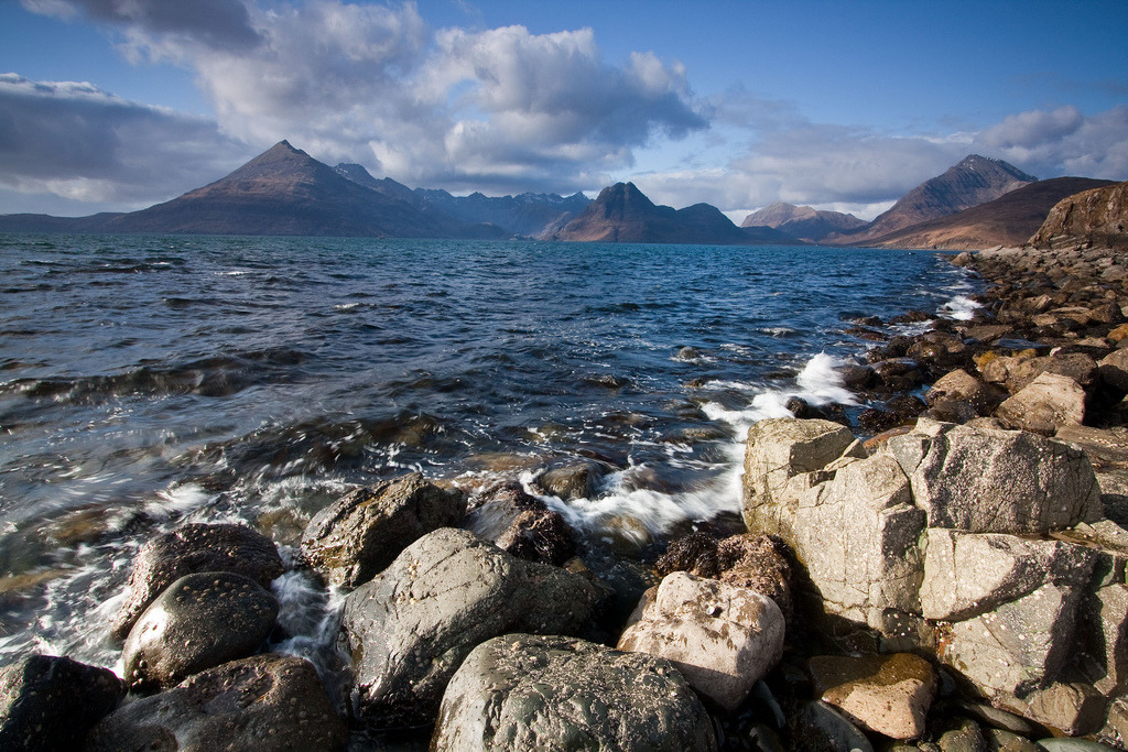 wanderthewood:  Cuillin Hills from Elgol, Isle of Skye, Scotland by etunar