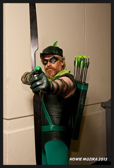 whybecosplay:  MegaCon 2013 - Green Arrow by Howie Muzika on Flickr (cc)