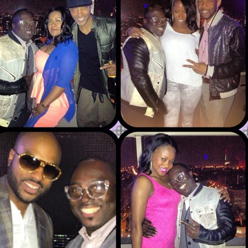 Having a great time at my boy Andre King BDay Bash #brookylnterrace #rooftop #rsvp #fashion #exclusiveparty #bk #nyc @billygamb @thaniabella @prfrancoise @mznellynellz  and boy Nick