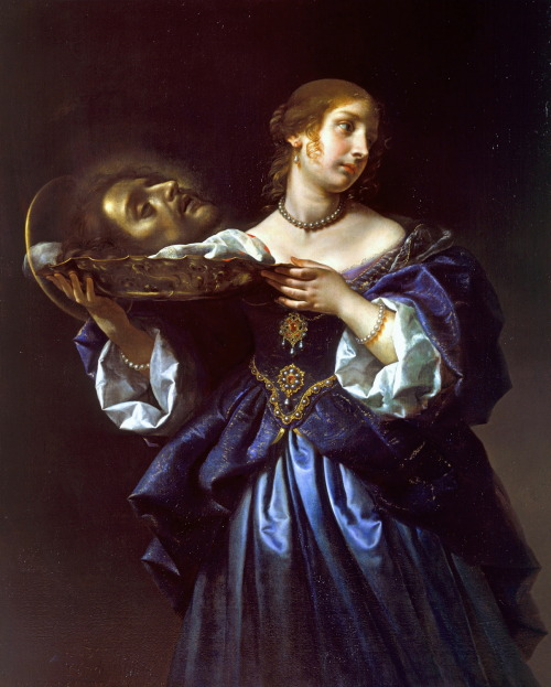 necspenecmetu:  Carlo Dolci, Salome with the Head of Saint John the Baptist, c. 1665-70