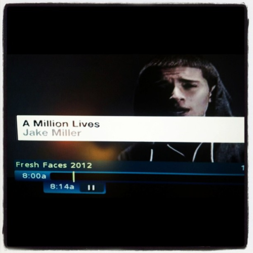 Just saw my music video on MTV…
