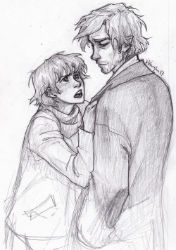 harry potter My art remus lupin nymphadora tonks still not over it tonks and remus